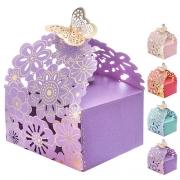 00483 Бонбоньерка (коробочка для конфет) 50шт/уп 7*7см