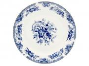 181 тарелка  № 8 Гжель мелкая 203мм