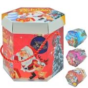 148 Коробка подарочная новогодняя 11*10см
