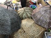 234 Зонт-трость леопардовый принт